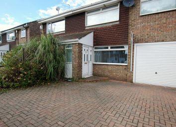 Thumbnail 3 bed terraced house for sale in Burnside, Ashington