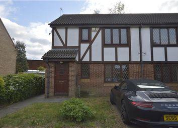Thumbnail 1 bedroom maisonette to rent in Messant Close, Harold Wood, Romford
