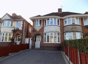 Thumbnail 3 bed semi-detached house for sale in Station Road, Coleshill, Birmingham, .