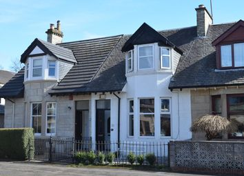 Thumbnail 2 bedroom terraced house for sale in Victoria Park Street, Glasgow