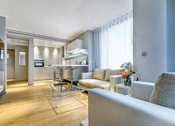 Thumbnail 1 bed flat to rent in Three Quays Apartments, Lower Thames Street, London