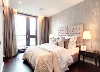 Thumbnail 3 bed flat for sale in Glacier House, The Residence, Ponton Road, London
