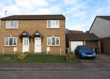 Thumbnail 2 bed semi-detached house for sale in Hatfield Close, Wellingborough