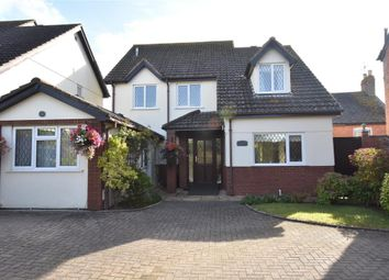 Thumbnail 4 bed detached house for sale in Holcombe Road, Holcombe, Dawlish, Devon