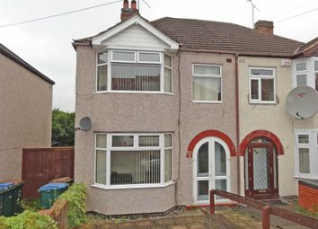 Thumbnail 3 bedroom semi-detached house for sale in Cornelius Street, Cheylesmore, Coventry