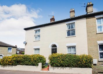 Thumbnail 3 bedroom end terrace house for sale in Carrow Road, Norwich