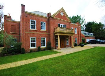 Thumbnail 6 bed detached house to rent in Christchurch Road, Virginia Water, Surrey
