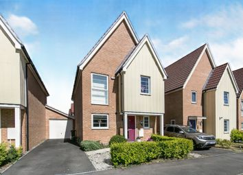 Thumbnail 3 bed detached house for sale in Plover Road, Stanway, Colchester