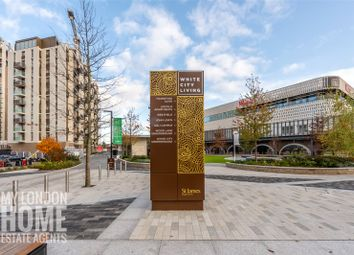 Thumbnail 1 bed flat for sale in Lincoln Building, White City Living, London