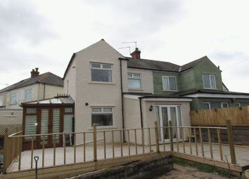 Thumbnail 3 bed semi-detached house for sale in Greencroft Avenue, Cardiff