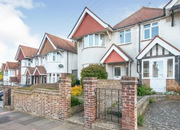 Thumbnail 4 bed semi-detached house for sale in Harding Avenue, Eastbourne