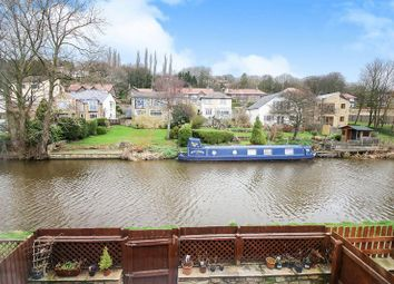 Thumbnail 3 bed town house for sale in Canal Road, Riddlesden, Keighley