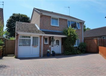 Thumbnail 3 bed detached house for sale in Herstone Close, Canford Heath, Poole
