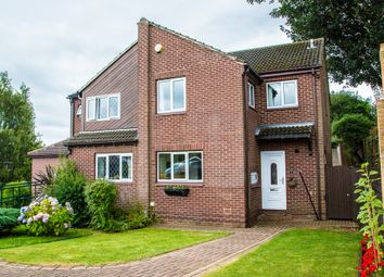 Thumbnail 4 bed semi-detached house for sale in Thorpefield Drive, Thorpe Hesley, Rotherham