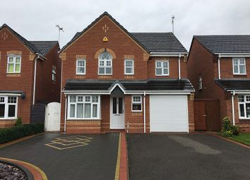 Thumbnail 4 bed detached house for sale in Moor Furlong, Stretton, Burton-On-Trent, Staffordshire