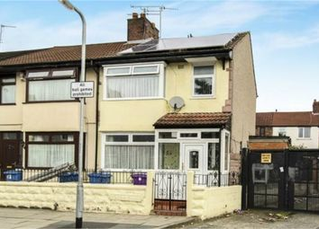 Thumbnail 3 bed end terrace house for sale in Heliers Road, Liverpool, Merseyside