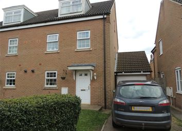Thumbnail 4 bed town house for sale in John Davis Way, Watlington, King's Lynn