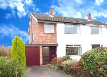 Thumbnail 3 bed semi-detached house to rent in Cransley Avenue, Wollaton, Nottingham