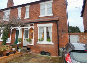 Thumbnail 4 bed semi-detached house for sale in Princess Road, Wilmslow