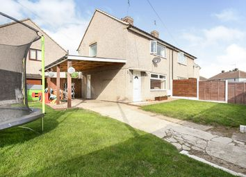 Thumbnail 2 bed semi-detached house for sale in Athelstane Drive, Thurcroft, Rotherham, South Yorkshire