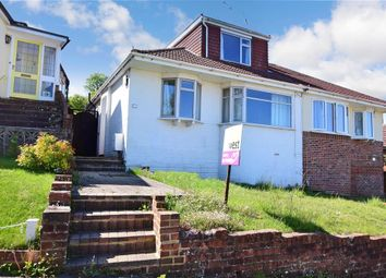 Thumbnail 3 bed semi-detached bungalow for sale in Westfield Crescent, Patcham, Brighton, East Sussex