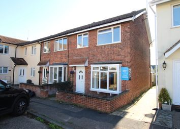 Thumbnail 3 bedroom end terrace house for sale in Moss Way, West Bergholt, Colchester, Essex