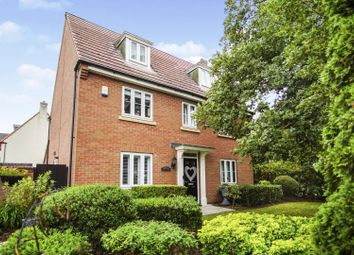 Thumbnail 5 bed detached house for sale in Willowbrook Way, Rearsby