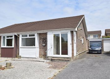 Thumbnail 2 bed semi-detached bungalow for sale in Vyvyan Drive, Quintrell Downs, Newquay
