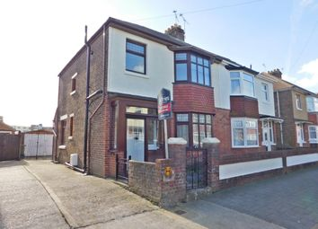 Thumbnail 3 bed semi-detached house for sale in Northwood Road, Portsmouth