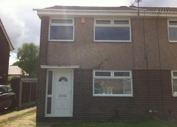 Thumbnail 3 bed semi-detached house to rent in Redwood Road, Woolton, Liverpool