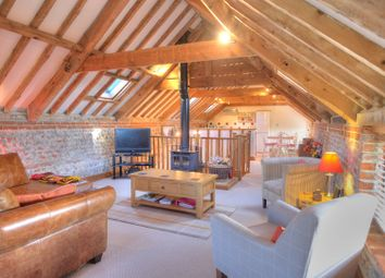 Thumbnail 2 bed barn conversion for sale in Back Lane, Roughton, Norwich