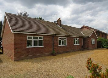 Thumbnail 3 bed detached bungalow for sale in Stratton Road, Hainford, Norwich