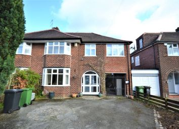 Thumbnail 3 bed semi-detached house to rent in Dean Row Road, Wilmslow