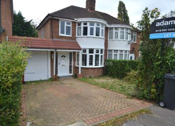 Thumbnail 3 bed semi-detached house to rent in Windermere Road, Reading