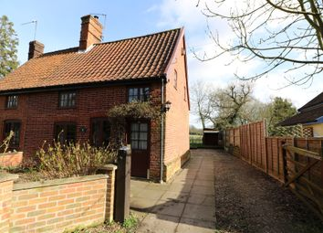 Thumbnail 2 bedroom semi-detached house to rent in Upper Street, Gissing, Diss
