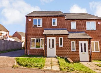 Thumbnail 3 bed semi-detached house for sale in Gayle Court, Consett