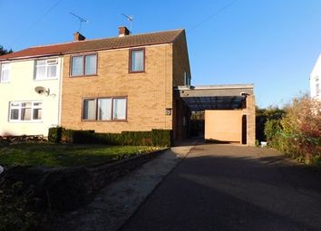 Thumbnail 3 bed semi-detached house for sale in Bixby Avenue, Haughley, Stowmarket
