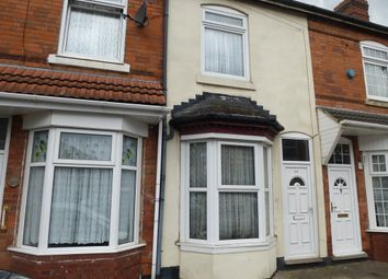 Thumbnail 2 bedroom terraced house for sale in Medley Road, Sparkhill, Birmingham