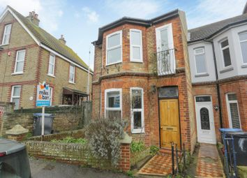 Thumbnail 3 bed terraced house for sale in Pegwell Road, Ramsgate