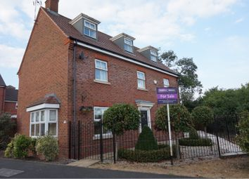 Thumbnail 5 bed detached house for sale in Masefield Drive, Leicester