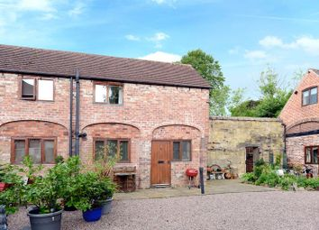 Thumbnail 2 bed end terrace house for sale in King Charles Barns, Church Street, Madeley, Telford