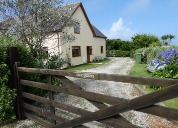 Thumbnail 4 bed detached house for sale in Mayon Green, Sennen, Penzance