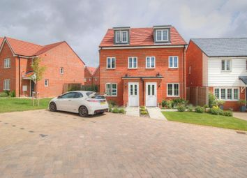 Thumbnail 3 bed semi-detached house for sale in White Clover Close, Stone Cross, Pevensey