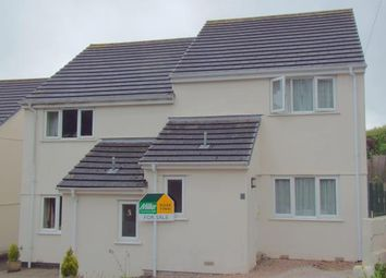 Thumbnail 3 bed semi-detached house for sale in Crinnicks Hill, Bodmin, Cornwall