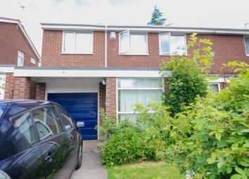 Thumbnail 4 bed semi-detached house for sale in Beaminster Way, Newcastle Upon Tyne