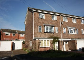 Thumbnail 4 bedroom town house for sale in Lower Quay Close, Fareham