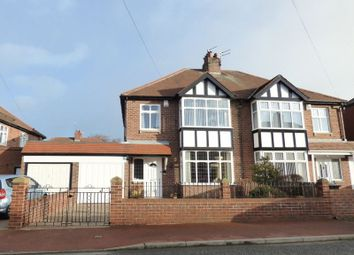 Thumbnail 3 bed semi-detached house for sale in The Wynd, Gosforth, Newcastle Upon Tyne
