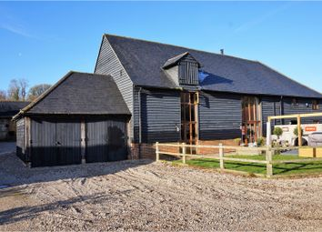 Thumbnail 4 bedroom barn conversion for sale in Church Lane, Waltham, Canterbury
