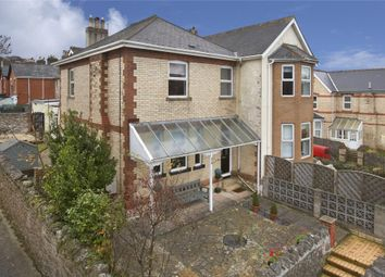 Thumbnail 4 bed semi-detached house for sale in Old Exeter Road, Newton Abbot, Devon