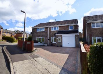 Thumbnail 4 bed detached house for sale in Taliesin Place, Loughor, Swansea